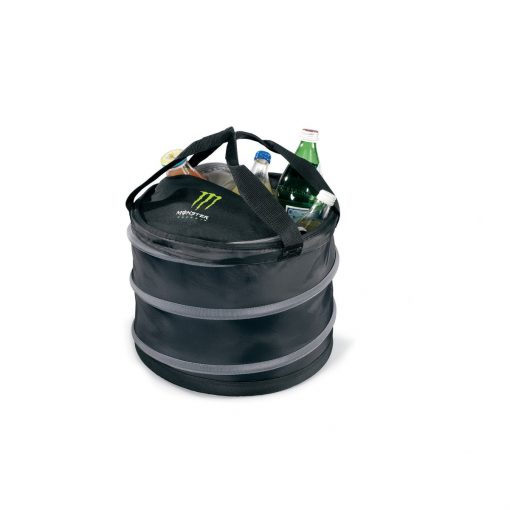 Collapsible Party Cooler - Black-Grey