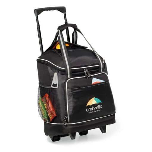 Harbor Wheeled Cooler - Black