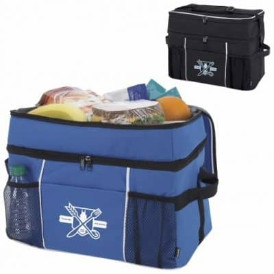 KOOZIE® Double Compartment 30-Can Kooler