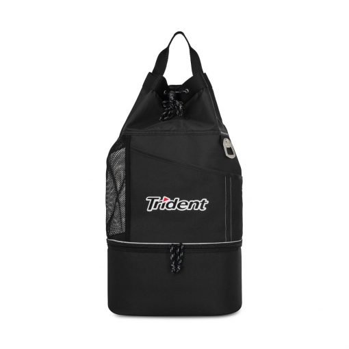 Oceanside Sport Cooler Tote - Black
