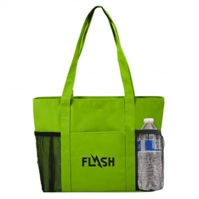 Cooler Tote Bag w/Mesh Pockets