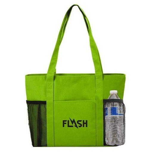 Cooler Tote Bag w/Mesh Pockets