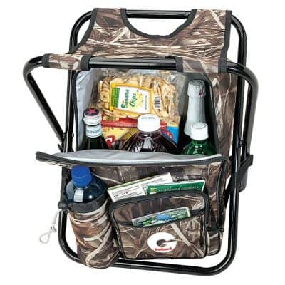 Greenwood 24-Can Camo Cooler Chair