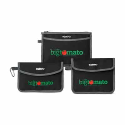 Igloo® Insulated 3 Piece Pouch Set - Black