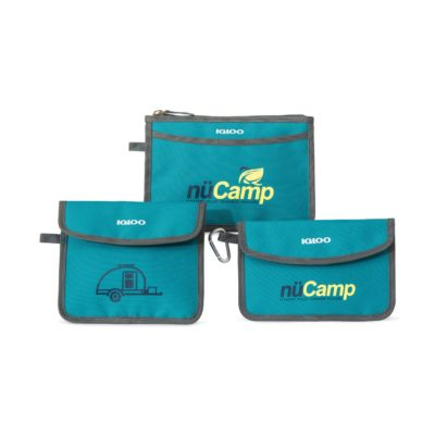 Igloo® Insulated 3 Piece Pouch Set Blue