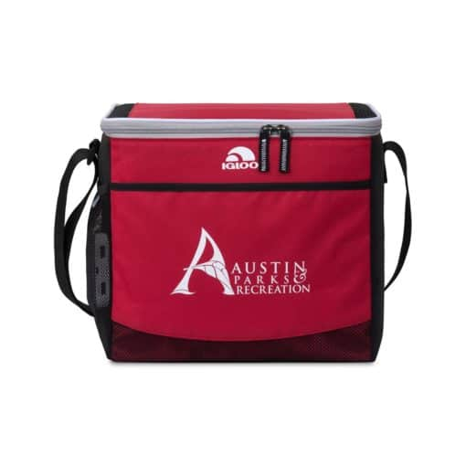 Igloo® Akita Collapse and Cool Cooler - Red