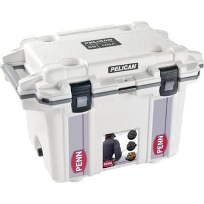 Pelican™ 50QT Cooler WHITE