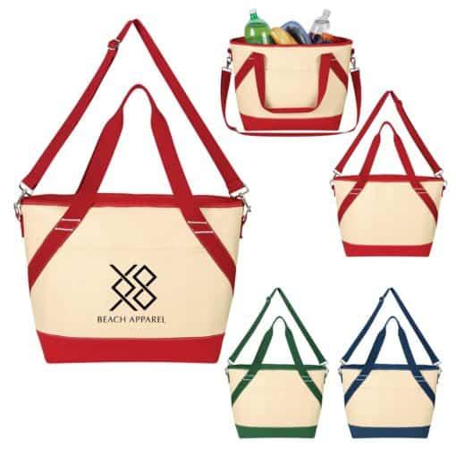 Canvas Cooler Tote Bag