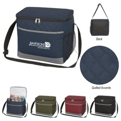 Carter Quilted Cooler Bag