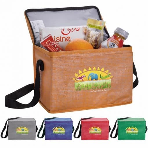 Good Value® Non-Woven Shimmer Lunch Cooler