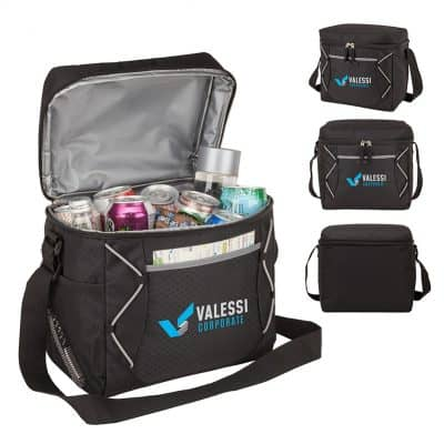 Monterey 16-Can Cooler Bag with Diamond 420D