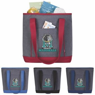 KOOZIE® Two-Tone Lunch Time Kooler Tote
