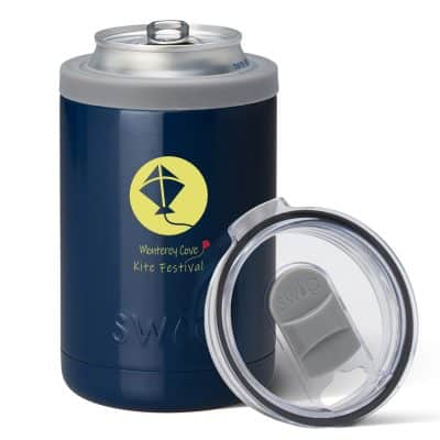 12 oz. Swig® Combo Cooler (Navy)