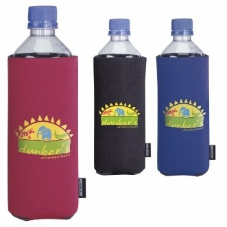 KOOZIE® Basic Collapsible Bottle Kooler (Heat Transfer)