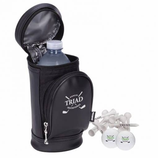 KOOZIE® Golf Bag Kooler Kit w/Titleist® DT® TruSoft Golf Balls
