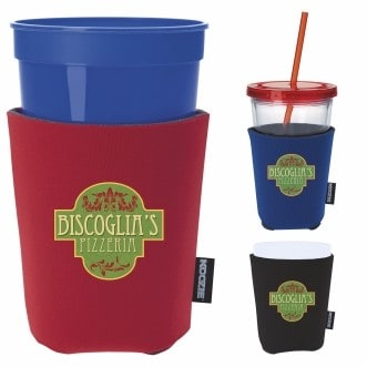 KOOZIE® Life's A Party Cup Kooler (Heat Transfer)