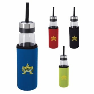 Koozie® Glass Bottle w/Koozie® Kooler