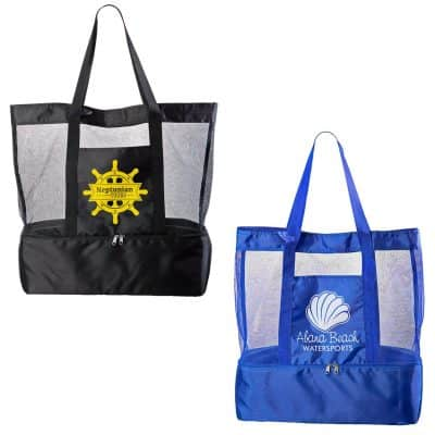 Nautical Insulated Beach Bag