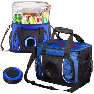 Diamond Cooler Bag w/Wireless Speaker