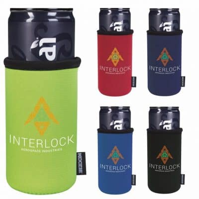 Koozie® Slim Can Kooler (Heat Transfer)