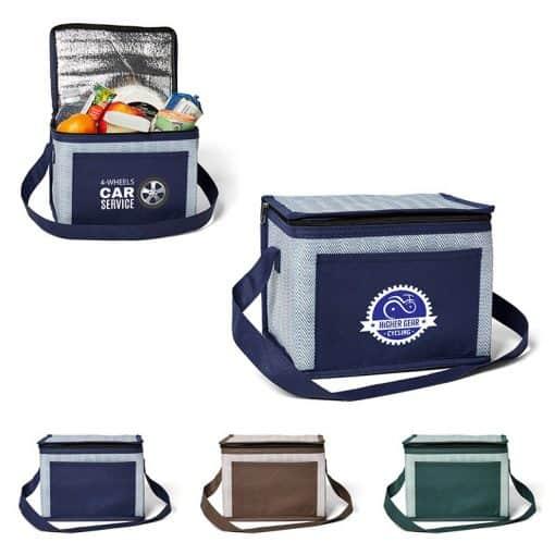 Delphine Non-Woven 6 Pack Cooler Bag