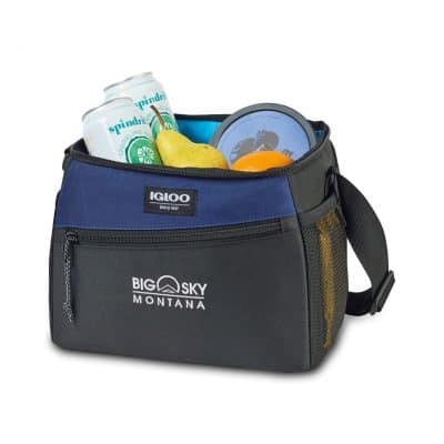 Igloo® Glacier Box Cooler Navy-Blue