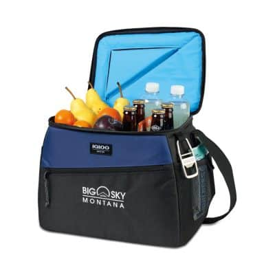 Igloo® Glacier Deluxe Box Cooler Navy-Blue