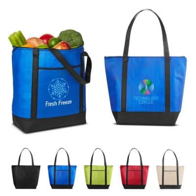 Medium Size Non-Woven Cooler Tote Bag