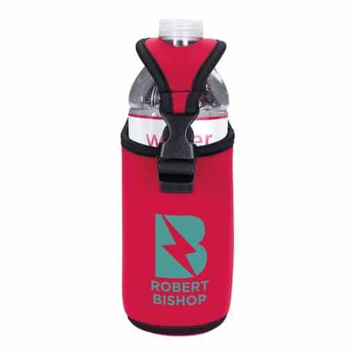 Koozie® Bottle/Can Kooler with D-ring and Clip