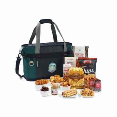 Dumont Downtime Gourmet Cooler - Deep Forest Green