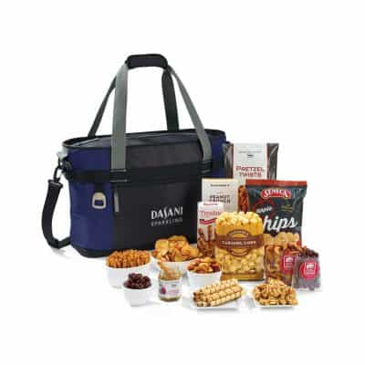 Dumont Downtime Gourmet Cooler - Navy