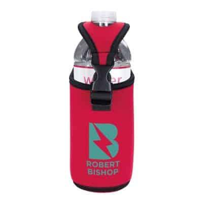 Koozie® Bottle/Can Kooler w/D-ring & Clip