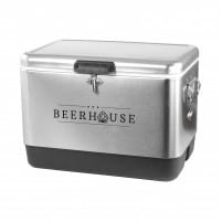 Coleman® 54-Quart Steel Belted© Stainless Steel Cooler