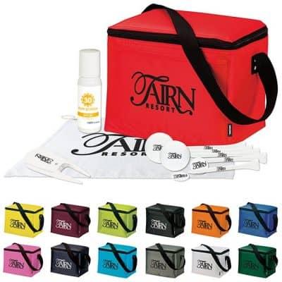 KOOZIE® 6 Pack Kooler Golf Event Kit w/Titleist® TruFeel Golf Balls