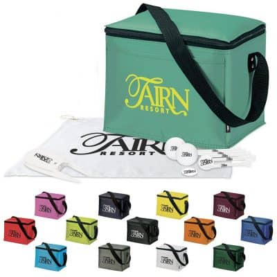 Koozie® 6 Pack Kooler Golf Event Kit w/Titleist® Pro V1® Balls