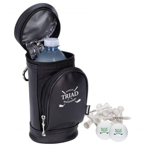 Koozie® Golf Bag Kooler Kit w/Titleist® Pro V1® Balls