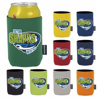 KOOZIE® Heat Transfer Collapsible Neoprene Can Kooler