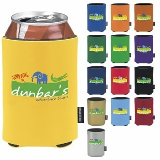 KOOZIE® Heat Transfer Deluxe Collapsible Can Kooler
