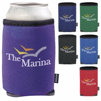 KOOZIE® Heat Transfer Summit Collapsible Can Kooler